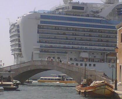 TraMeZziniMag: Venise, le sénateur et les paquebots géants