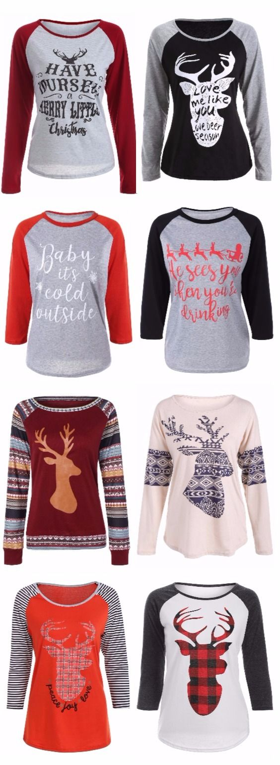 Christmas t shirts collection