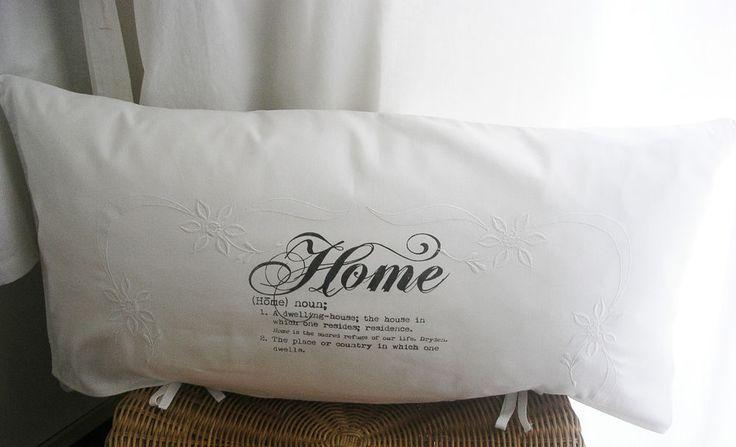 home kissenh lle kissen shabby chic french antik leinen landhaus impressionen pillows kissen. Black Bedroom Furniture Sets. Home Design Ideas