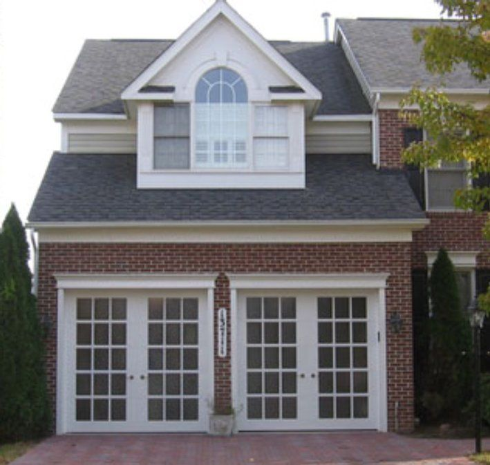 59 best garage conversions images on pinterest for Convert two door garage into one