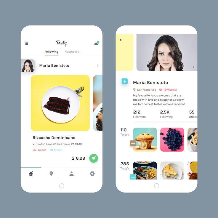 Tasty Food Ordering App