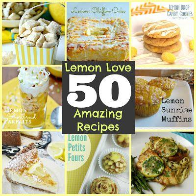 50 Lemon Recipes via Manadatory Mooch!