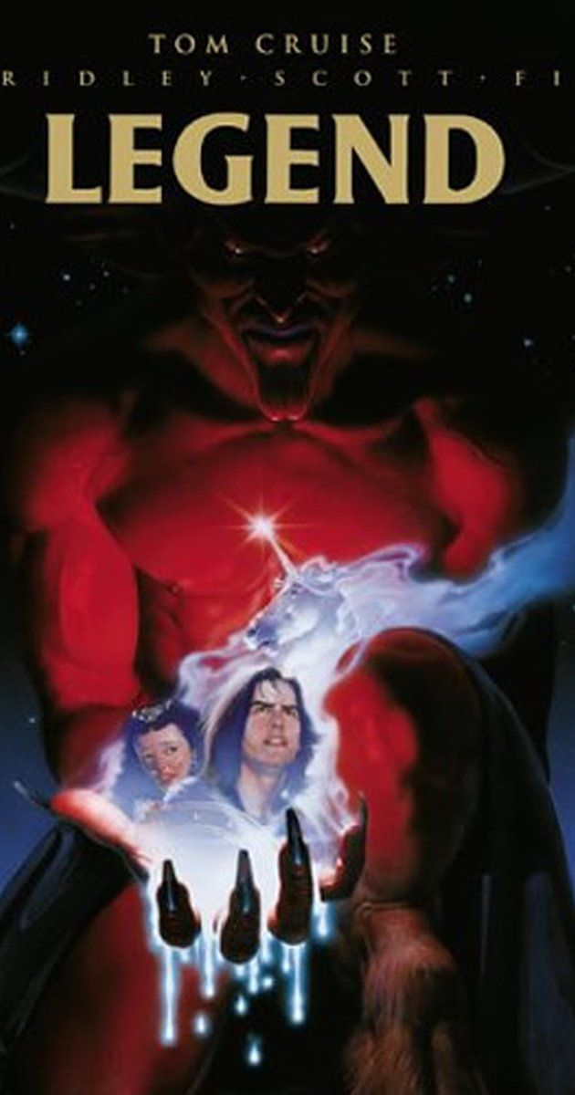 Directed by Ridley Scott.  With Tom Cruise, Mia Sara, Tim Curry, David Bennent. A young man must stop the Lord of Darkness from both destroying daylight and marrying the woman he loves.