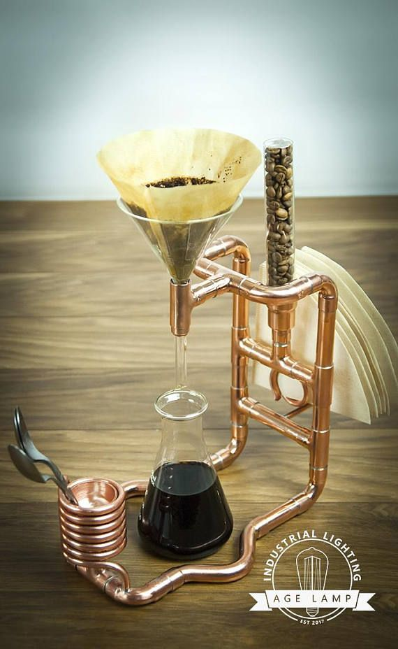 Сopper Coffee Pour Over Stand