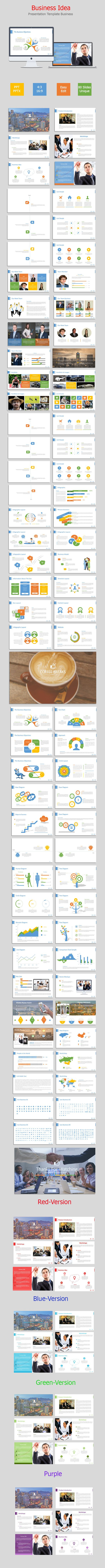 Business Idea PowerPoint Presentation Template #design #slides #powerpoint Download: http://graphicriver.net/item/business-idea/11418209?ref=ksioks