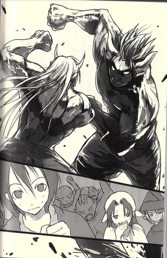 Re:monster; Ogre Kichi vs Ogre Rou