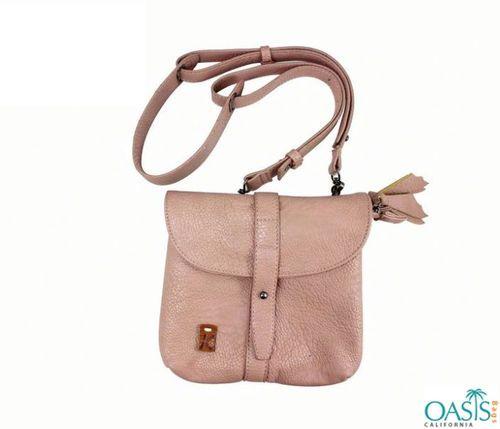 #Soft Velvet Touch Baby Pink Oasis Handbag