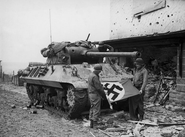 """Photos -- many from the region of Europe where the new movie, """"Fury,"""" is set -- depicting the grim reality of tank warfare in WWII."""