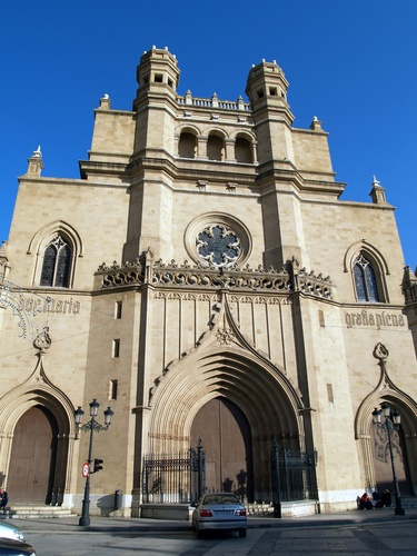 Cathedral Santa Maria in Castellon, Spain.