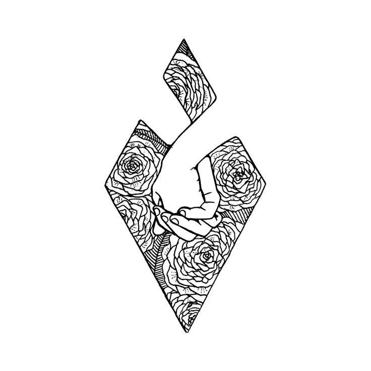 The 25 Best Ideas About Geometric Flower On Pinterest Birth Flowers