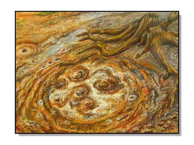 MOFETY - SOOS, akvarel a pastelky Jana Haasová