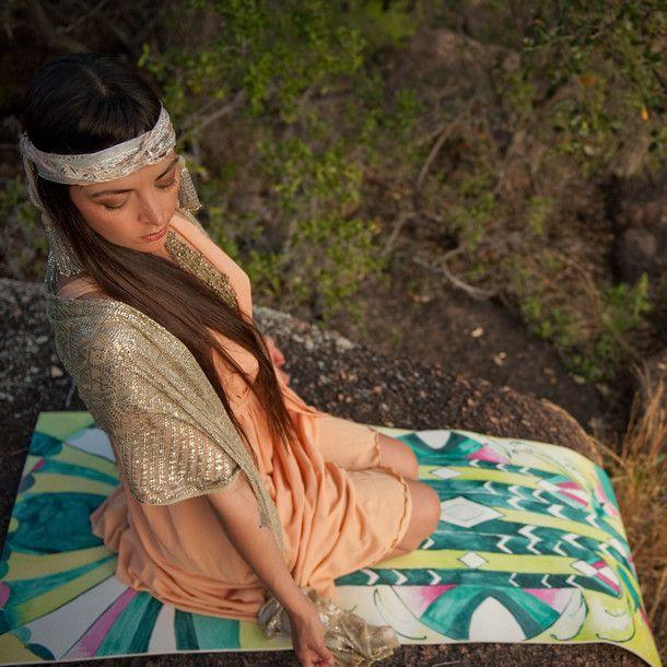 Deco Magic Carpet Yoga Mat by Sophie Leininger