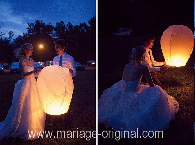1000 ides sur le thme lanternes de papier flottantes sur pinterest lanternes de mariage flottantes douches nuptiales dans un domaine viticole et - Lanterne Volante Mariage