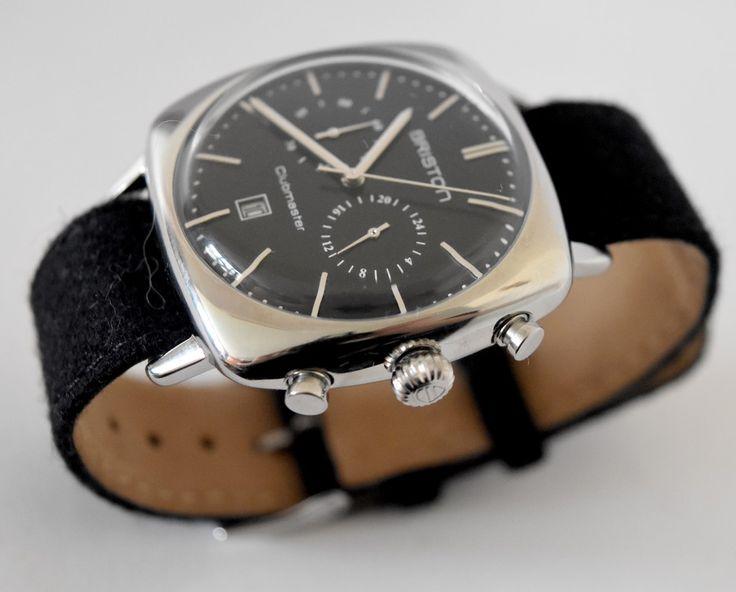 Mon avis sur la Briston Clubmaster Vintage Acier Chronographe. Un montre homme au design rétro élaborée avec des matériaux de qualité.