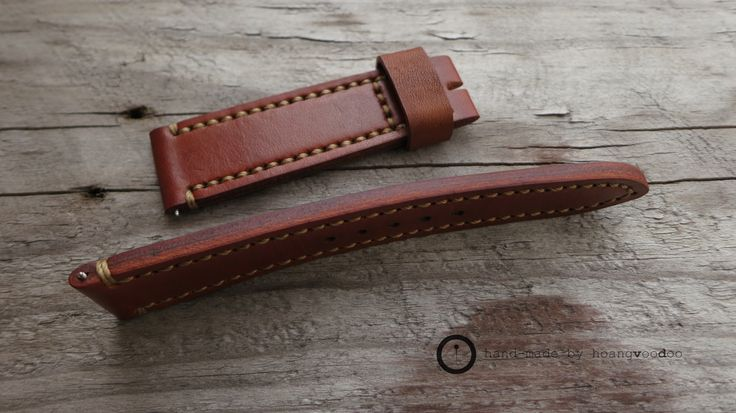 watch strap - handmade leather