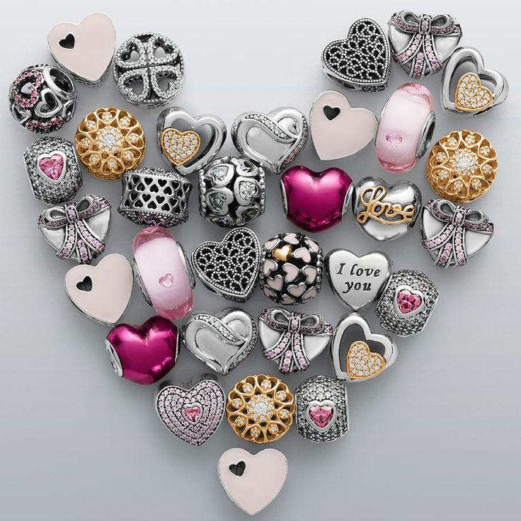 pandora valentines - Pandora Bracelet Design Ideas