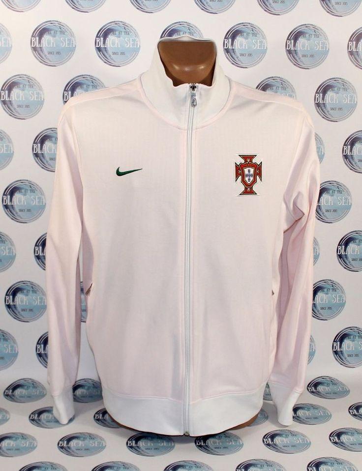 PORTUGAL NATIONAL TEAM 2010 2013 FOOTBALL SOCCER JACKET COAT NIKE  XL MEN #Nike #Portugal