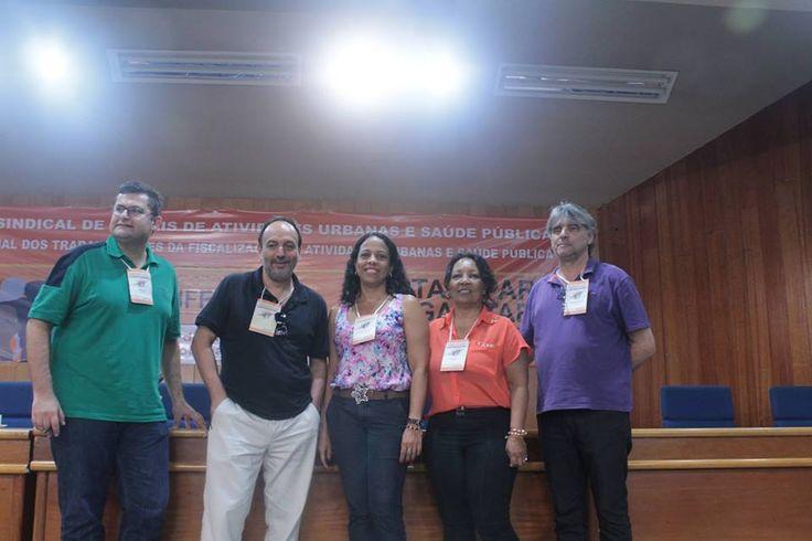André Sahd, Ricardo Manzi, Isabel Santos, Claret e Mário Fortunato