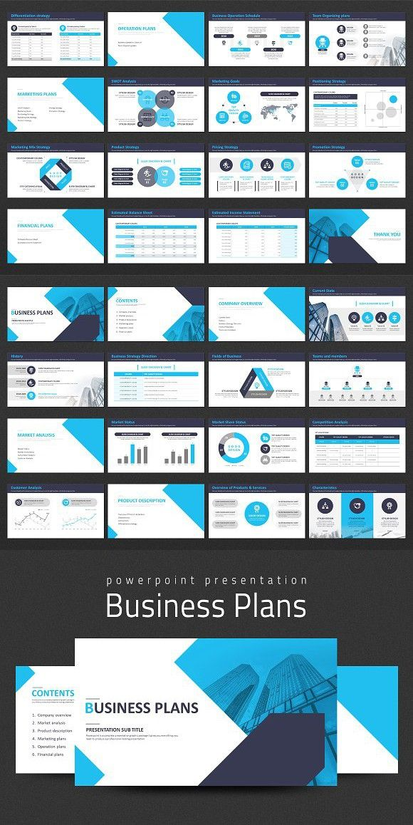 Business Plans Presentation Strategy Powerpoint Templates