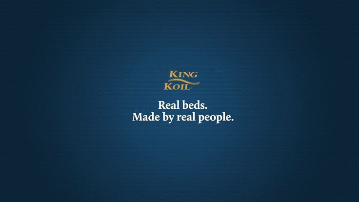 Real beds. Made by real people.