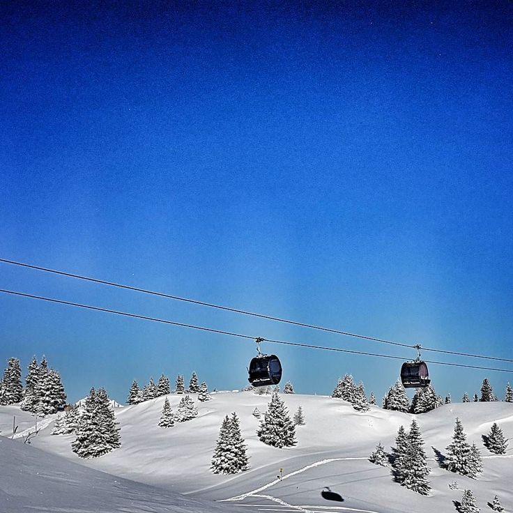 Ein Tag aus dem Bilderbuch. #Lenzerheide #arosalenzerheide #sonnehochzwei #skifahren #snow #snowfun #greatscenery #graubünden #visitswitzerland