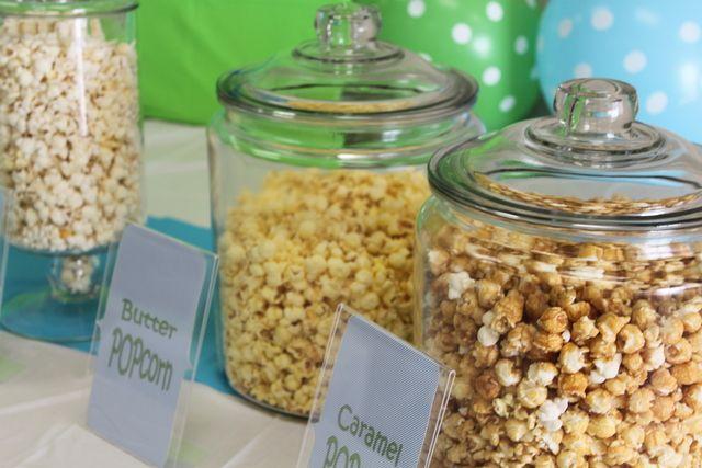 "Ready to ""Pop"" popcorn baby shower #babyshower #popcorn"