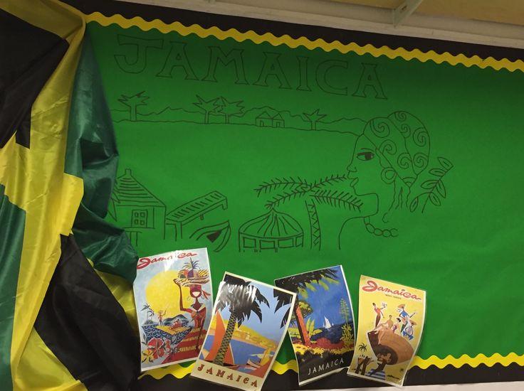 'Jamaica' Classroom Display