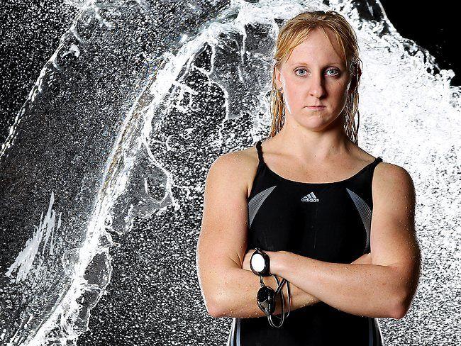 ATHLETE: Jess Schipper of the Australian Swimming Team