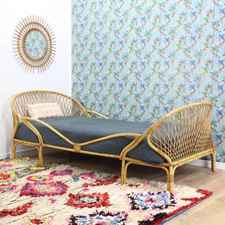 Les 15 meilleures id es de la cat gorie meubles en osier for Papier peint sur meuble