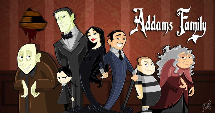 Addams Family Animated By Https Www Deviantart Com Racookie3 On Deviantart Addams Family Addams Family Tv Show Animation