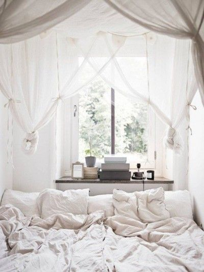 When selecting accents for the bedroom, partner crushed bed linen with textured layers to create an inviting 'lived in' feel. #FieldNotes #Bedroom #Textures #Styling #Neutrals
