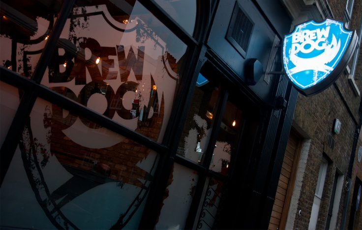 Brew Dog Camden, London