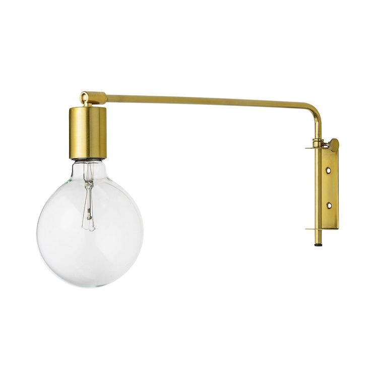 Bloomingville Vegglampe 40W, Messing - Bloomingville - Bloomingville - RoyalDesign.no