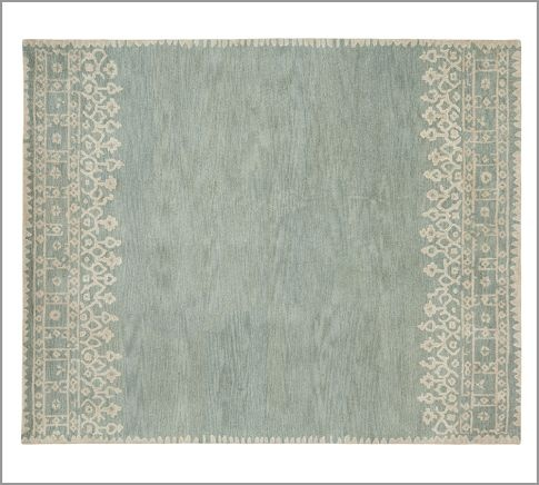 Desa Rug Blue Pottery Barn House Pinterest Wool Pottery And Living Rooms