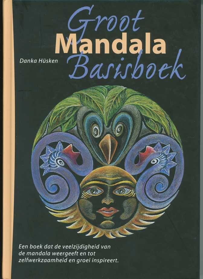 Het Groot Mandala Basisboek is het meest omvangrijke boek. Dit is min of meer de 'bijbel' van mijn werk. Het geeft je de mogelijkheid om met diverse werkvormen aan de slag te gaan. Prima voor eenieder die zelfredzaam is, voor therapeut, leerkracht en coaches.