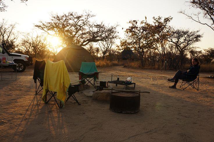 Camping in Botswana. #camping #adventure #bbctravel #traveller #botswana #africa #campinglife #savannah #nature #campinglovers