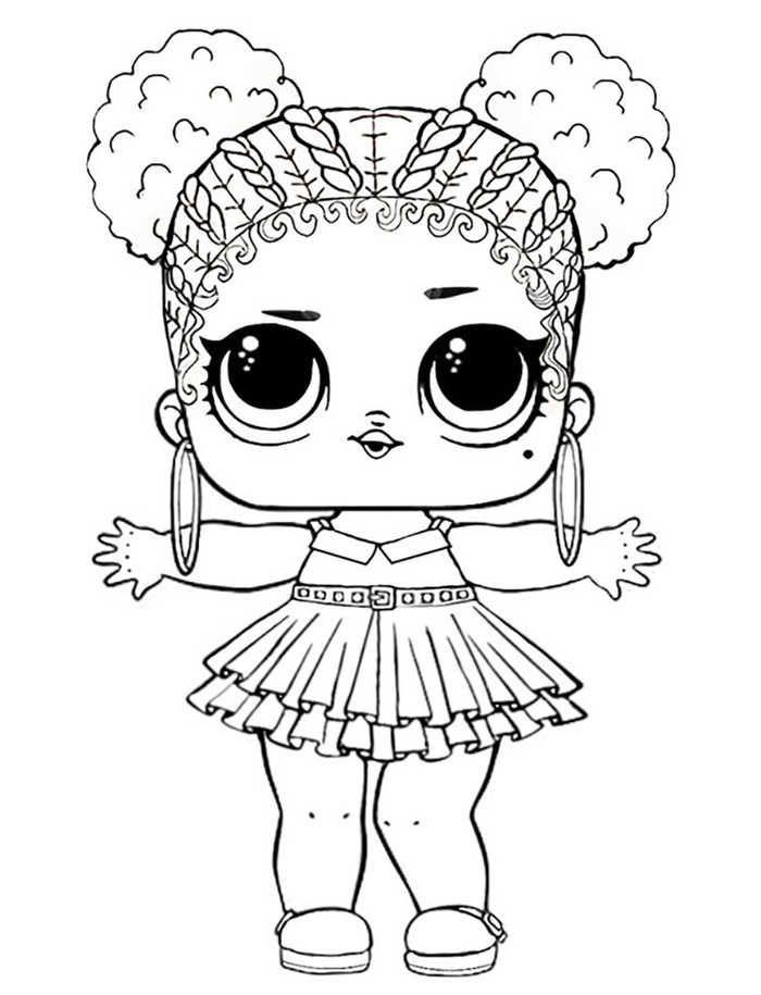 Printable LOL Doll Coloring Pages | Poupées lol, Coloriage ...