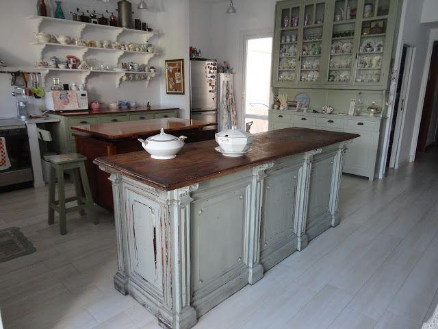 Antiguo mostrador de almacen buscar con google - Mostradores de cocina ...