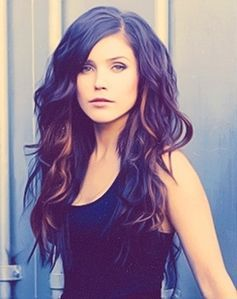 brown hair with purple highlights underneath - Google Search