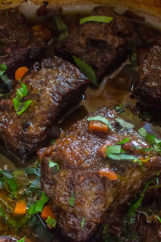 Braised Short Ribs- These Braised short ribs are one of the most tender, delicious, savory, soul satisfying things you will ever put in your mouth.
