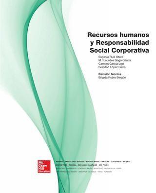 Recursos humanos y responsabilidad social corporativa ruiz, gago, garcía, lópez