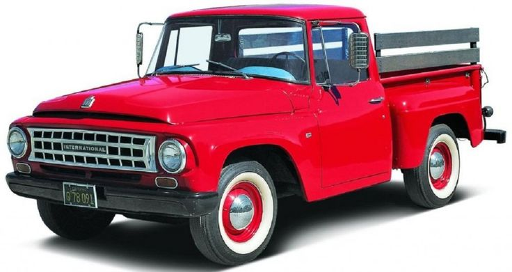 Classic International Harvester truck, dad had one like this