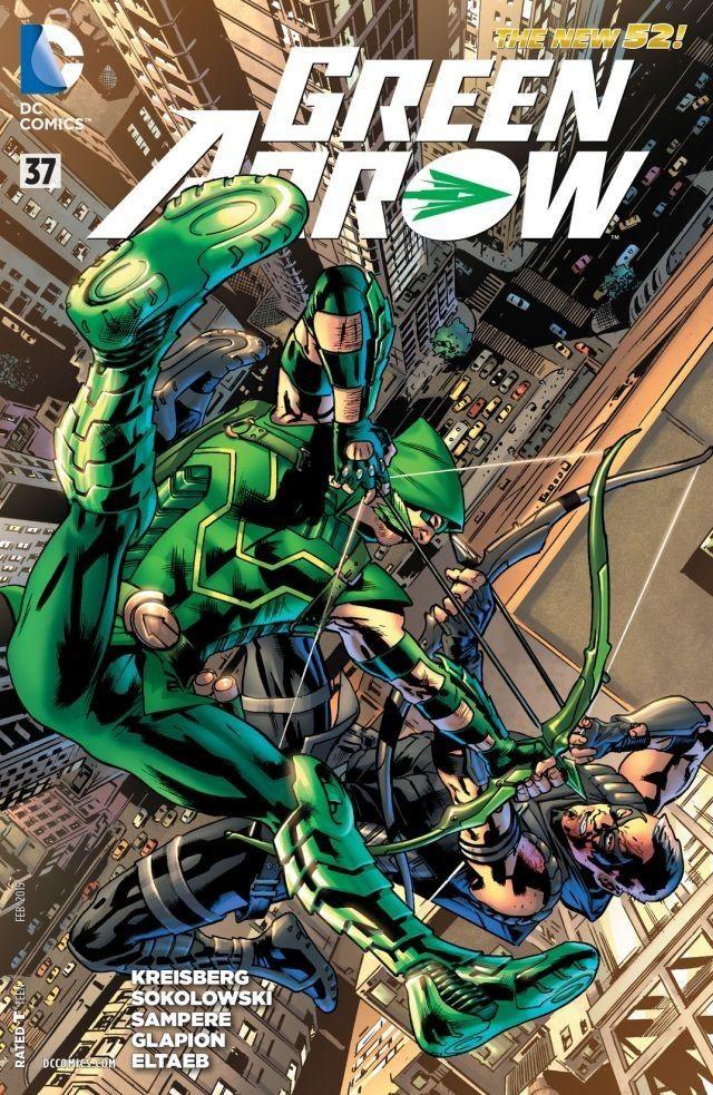 Comics green pdf arrow