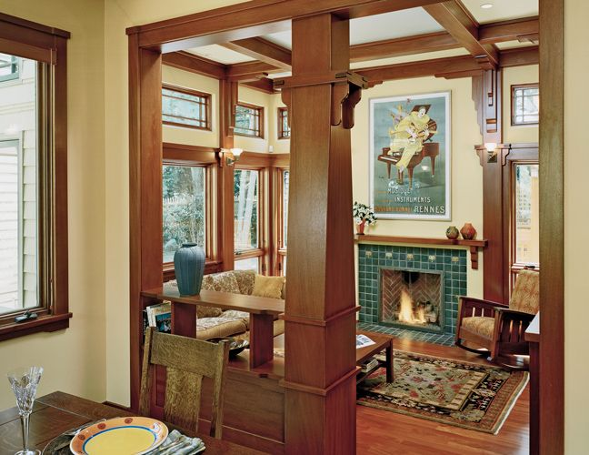 Arts And Crafts Style Living Room: 20 Best Images About Craftsman Living Rooms On Pinterest