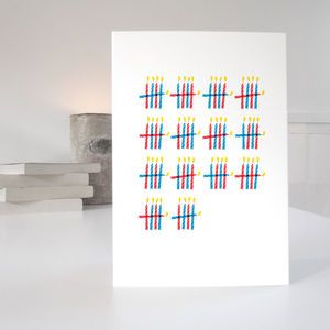 'Who's Counting?' 70th Birthday Card - birthday cards