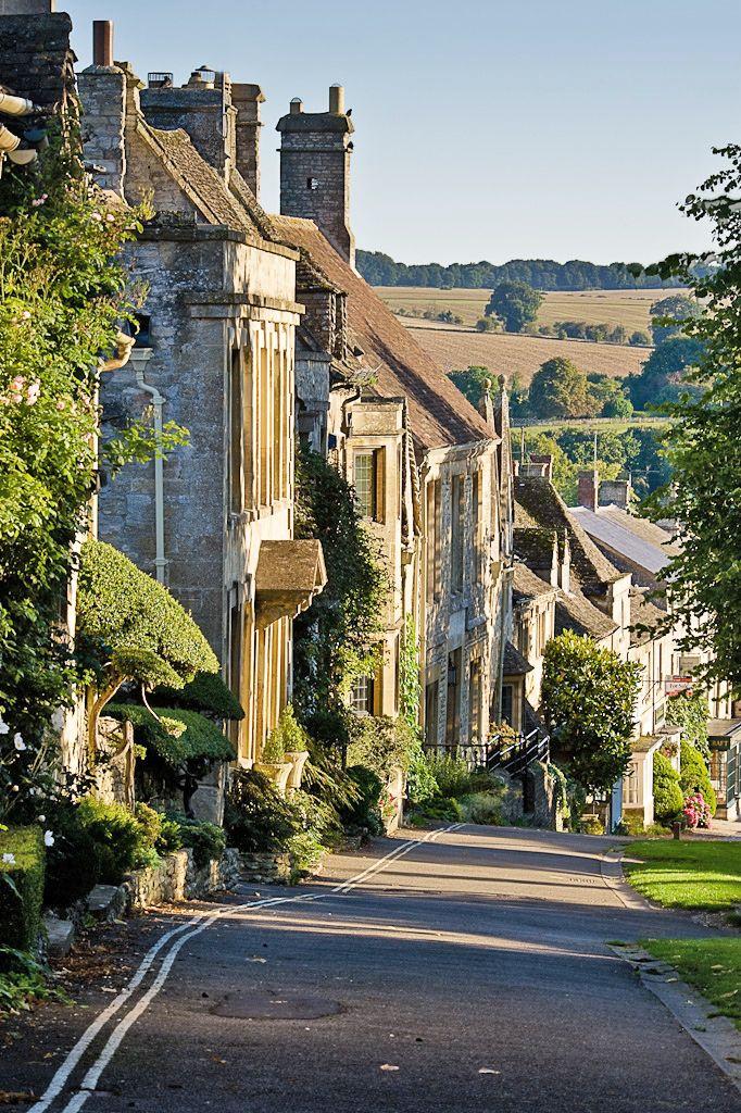 Burford, west Oxfordshire Nachbar Ort fuer viele Jahre !