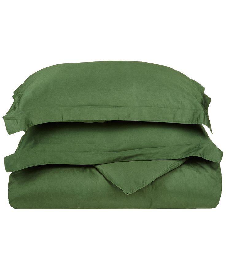 Superior 300 Thread Count 100% Egyptian Cotton Duvet Cover Set