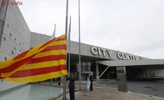 Messi pone la senyera en su boda, pero no la bandera de España