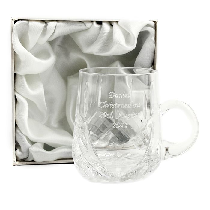 Personalised Crystal Cup in Gift Box