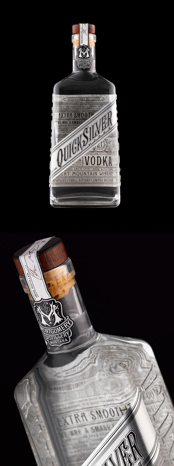 Quicksilver Vodka by Stranger & Stranger